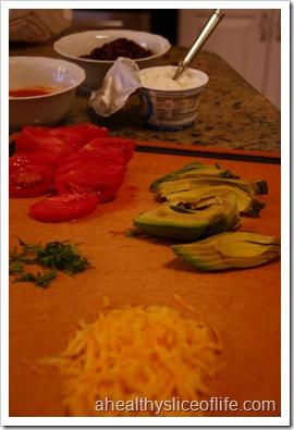 burrito bowl toppings