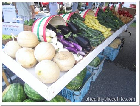 davidson farmers market vegetables
