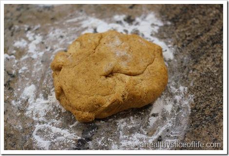 pumpkin raison cinnamon roll dough ball