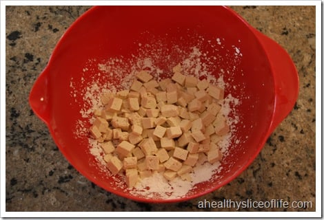 Eating Well Tofu and Broccoli Stir-fry- toss to coat tofu