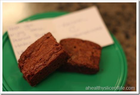 peanut butter hazelnut brownies