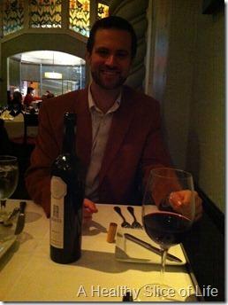 Bernardin's Charlotte NC - wine