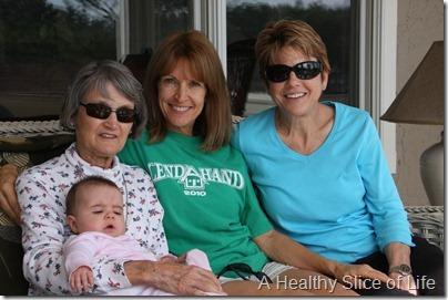 Hailey Nannie Nana and Aunt Lynn