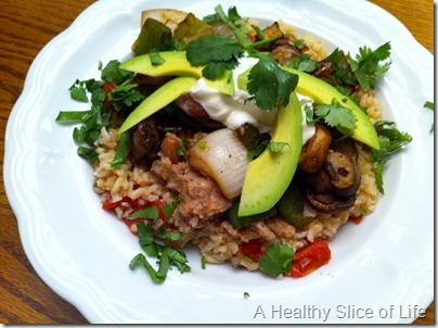 Meatless MexicanBurrito Bowl