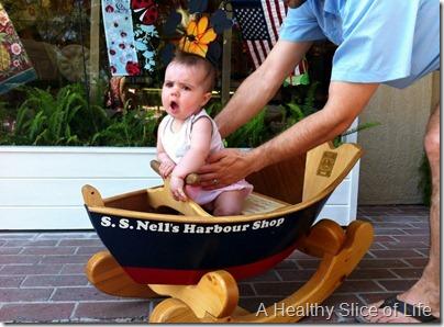 Hilton Head Island 2012- baby sail boat
