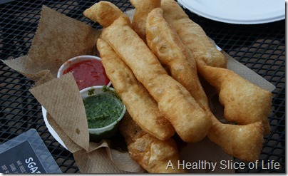 The Salty Caper Mooresville NC breadsticks
