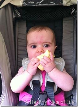 baby led apple