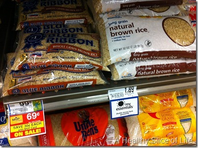 brown rice is cheap
