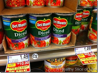 diced tomatoes on sale