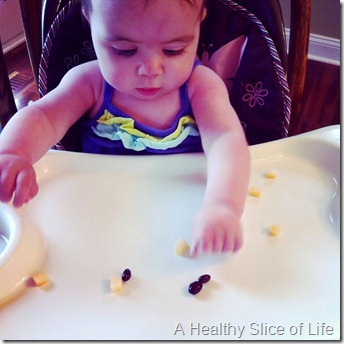 7 months old- baby led weaning