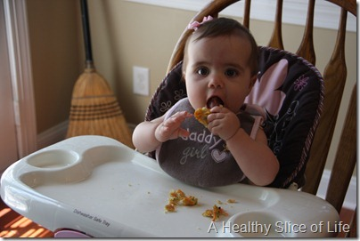 Vegetable Quinoa Biscuits for Baby- getting crumbly