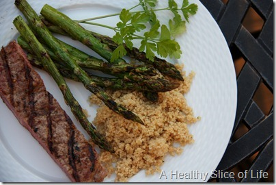 perfect grilled dinner
