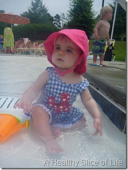 9 months old- pool