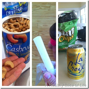 Bald Head Island- WIAW snacks