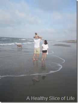 Bald Head Island- beach fam