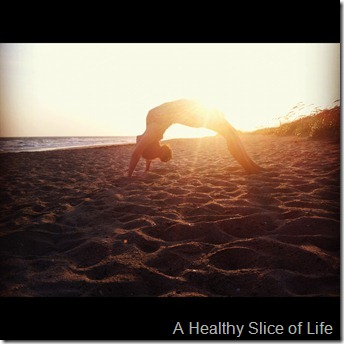 Bald Head Island beach yoga