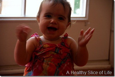Hailey 10 months- clapping