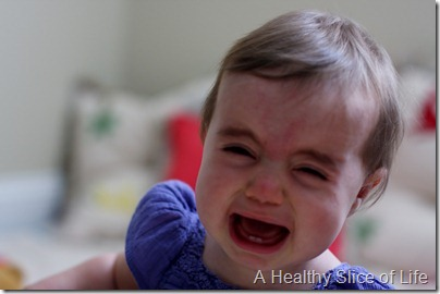 Hailey 10 months- crying
