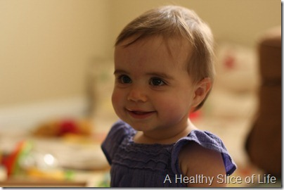 Hailey 10 months- pure sweetness