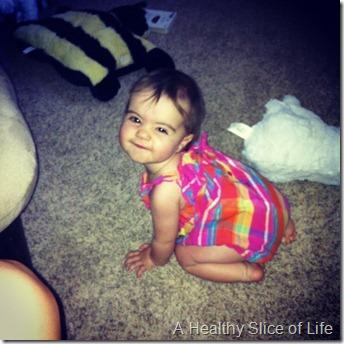 Hailey 10 months- sassy