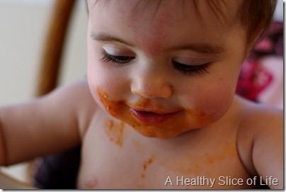 Hailey 10 months- spaghetti lashes