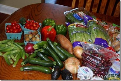 reproducestocking the fridge-