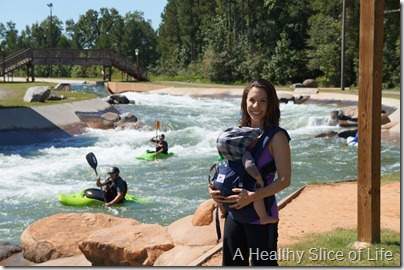 Charlotte- The National White Water Center- by the river