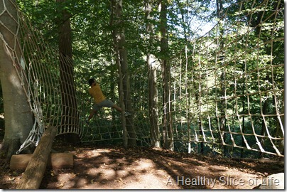 Charlotte- The National White Water Center- ropes course
