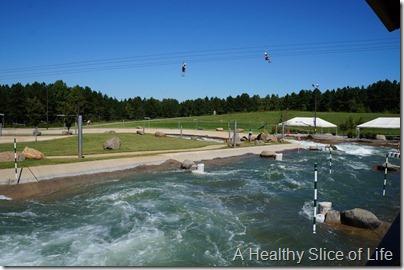 Charlotte- The National White Water Center- zipline