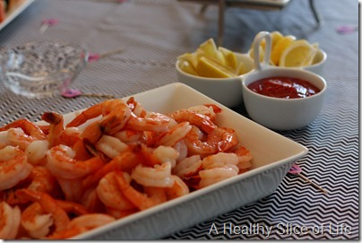 Hailey's 1st birthday- shrimp