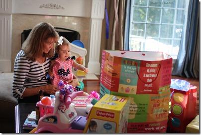 Magen Marie Photography- Hailey's 1st birthday- Hailey and Nana