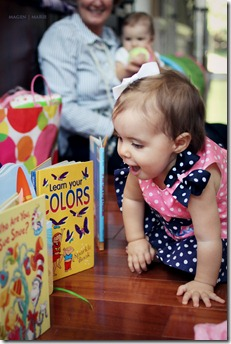 Magen Marie Photography- Hailey's 1st birthday- books