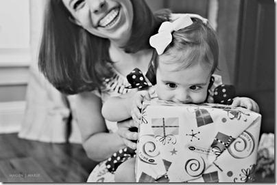Magen Marie Photography- Hailey's 1st birthday- crazy eyes