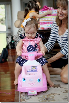 Magen Marie Photography- Hailey's 1st birthday- ride along