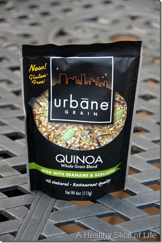 Urbane Grain Giveaway- miso with edamame and scallions