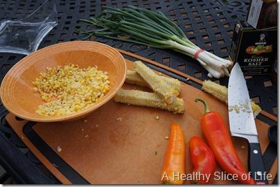 summer corn salad- de-kernel the corn