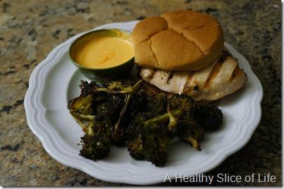 wiaw- chicken sandwich dinner