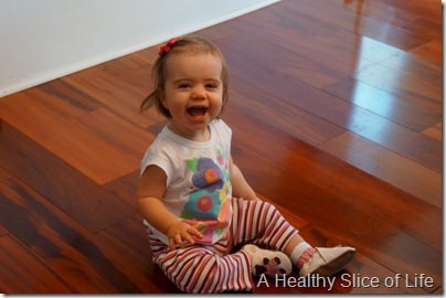 13 months old- laughing 2