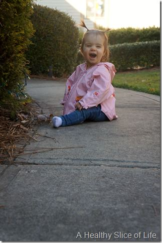 14 months old- outside