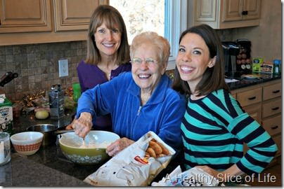 Christmas- family recipe making