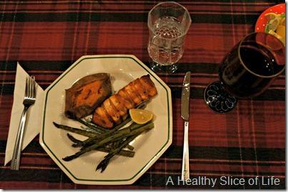 Christmas- scottish salmon
