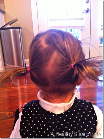 16 months old-  pigtailss
