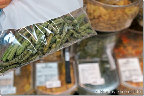 Healthy Home Market- green bean chips
