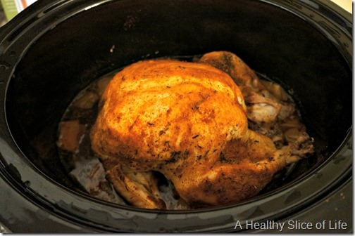 factors to eat in month- crock pot roasted chicken