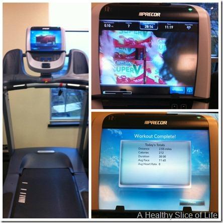 fancy Precor treadmill