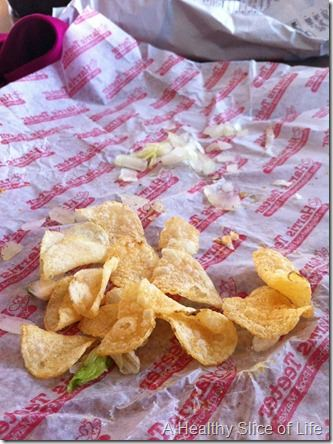 what I learned- potato chips