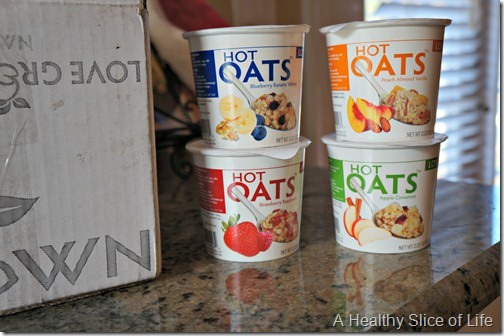 LOVE grown foods hot oats