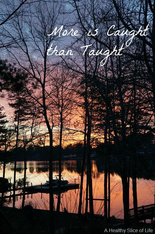 Deep Thoughts: More is Caught than Taught