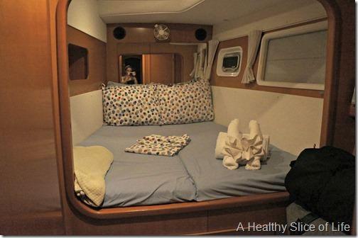Festiva- BVI Sailing- the cabin