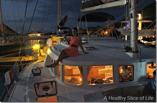 March Sailing BVI- Bitter End yacht club- night